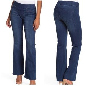 Liverpool Kimberly pull on dark wash bootcut jeans